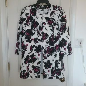NWT Ivory Print Jacket sizes 10 or 12 Final Price